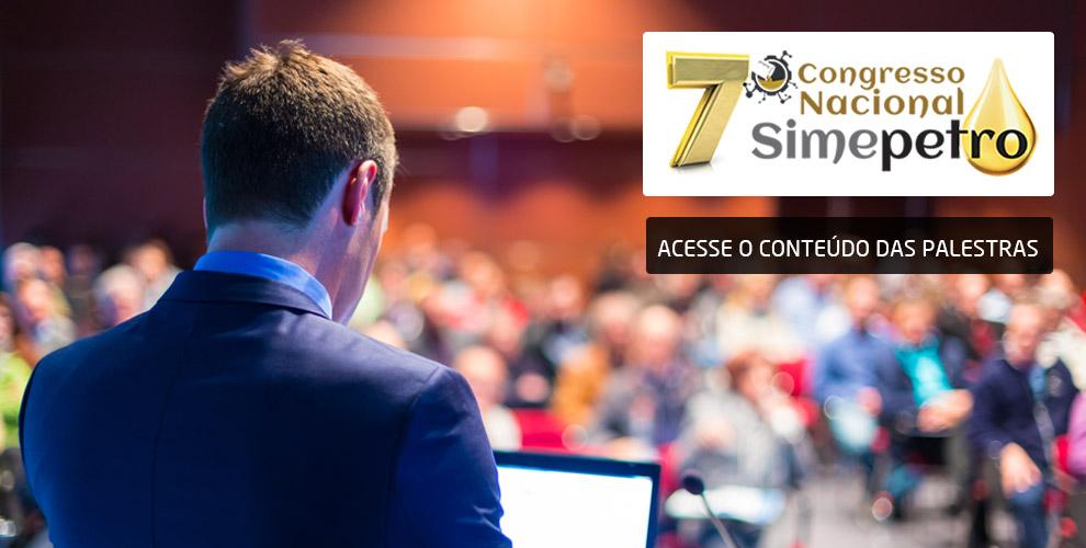 7 Congresso Simepetro – Palestras