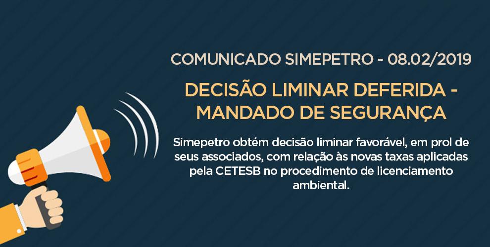 Comunicado Simepetro