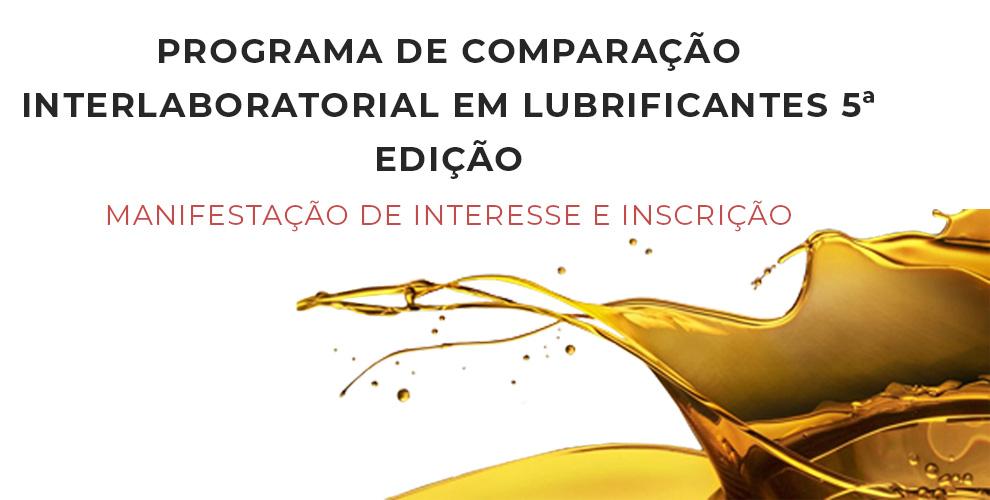 Programa de Comparação Interlaboratorial em Lubrificantes 5a Edição