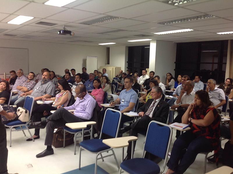Workshop Simepetro Realizado em 14/08/2015